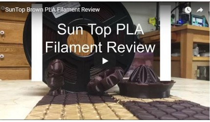PLA Filament Review(Video)