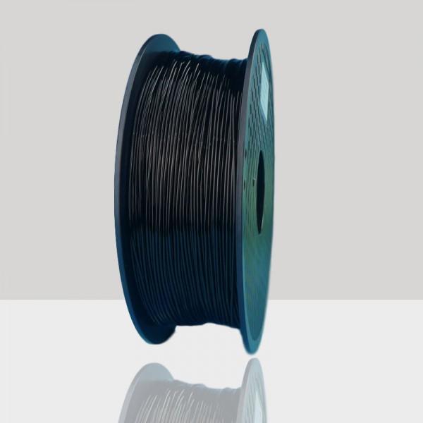 1.75mm TPU Flexible Filament Black for 3D Printers, Rohs Compliance,1kg Spool