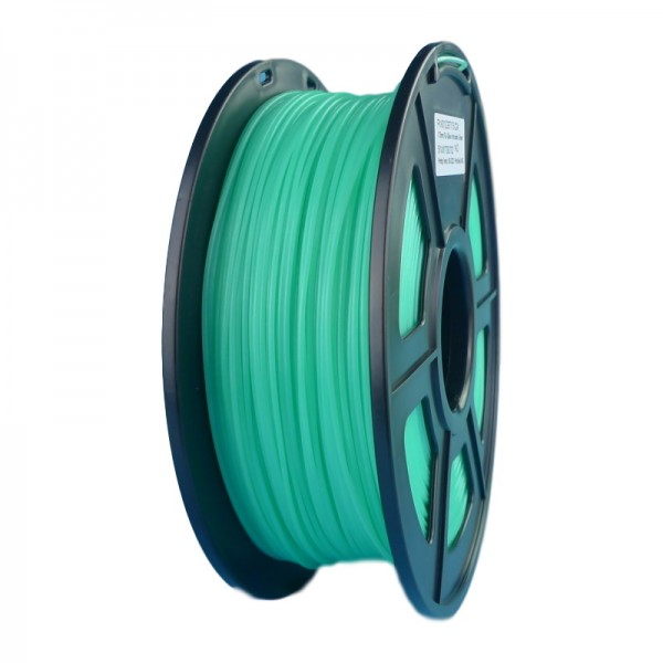 Glow in the Dark Green 3D Printing Filament 1.75mm for 3D Printers, Rohs Compliance,1kg Spool, Dimensional Accuracy +/- 0.03 mm