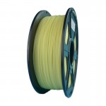 Glow in the Dark Yellow 3D Printing Filament 1.75mm for 3D Printers, Rohs Compliance,1kg Spool, Dimensional Accuracy +/- 0.03 mm