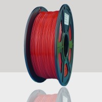 1.75mm PETG Filament Red for 3D Printers, Rohs Compliance,1kg Spool, Dimensional Accuracy +/- 0.03 mm