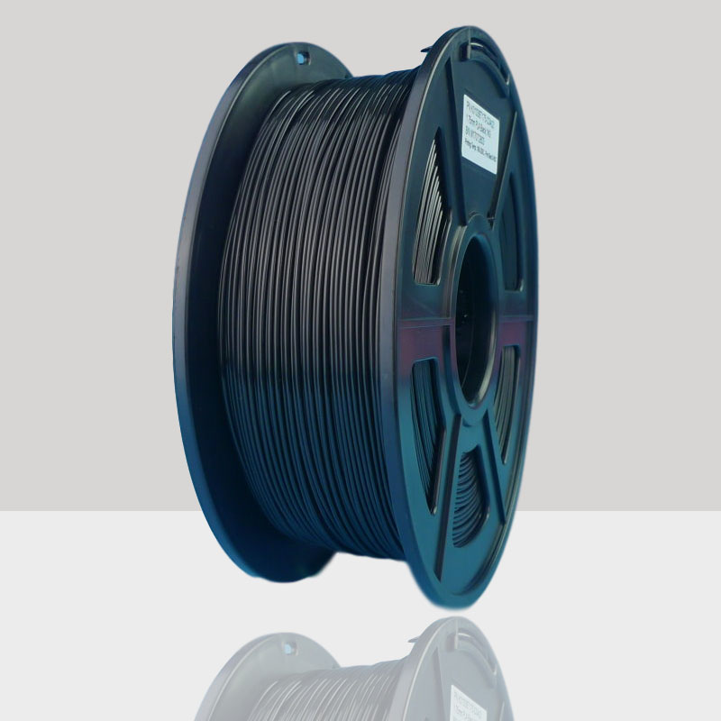 1kg Spool 1.75mm Black PLA 3D Printer Filament - Dimensional Accuracy +//- 0.03mm 2.2 lbs