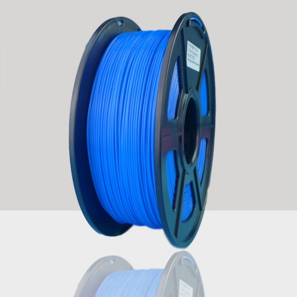 1.75mm PLA Filament Blue for 3D Printers, Rohs Compliance,1kg Spool, Dimensional Accuracy +/- 0.03 mm