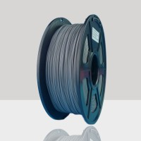 1.75mm PLA Filament Dark Grey for 3D Printers, Rohs Compliance,1kg Spool, Dimensional Accuracy +/- 0.03 mm