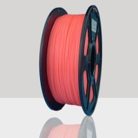 1.75mm PLA Filament Fluorescent Orange for 3D Printers, Rohs Compliance,1kg Spool, Dimensional Accuracy +/- 0.03 mm