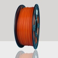 1.75mm PLA Filament Orange for 3D Printers, Rohs Compliance,1kg Spool, Dimensional Accuracy +/- 0.03 mm