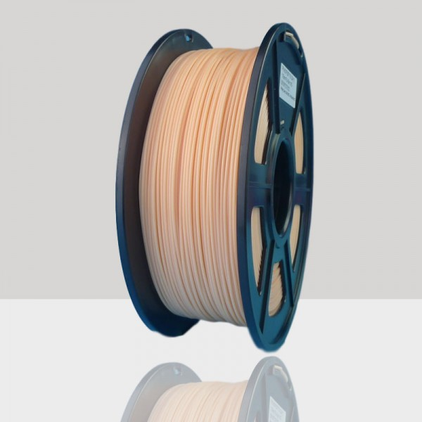 1.75mm PLA Filament Skin Color for 3D Printers, Rohs Compliance,1kg Spool, Dimensional Accuracy +/- 0.03 mm