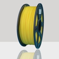 1.75mm ABS Filament Yellow for 3D Printers, Rohs Compliance,1kg Spool, Dimensional Accuracy +/- 0.03 mm