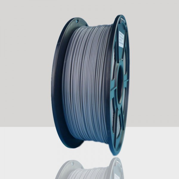 1.75mm PLA Filament Light Grey for 3D Printers, Rohs Compliance,1kg Spool, Dimensional Accuracy +/- 0.03 mm