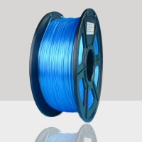 1.75mm Silk Like PLA Filament Blue for 3D Printers, Rohs Compliance,1kg Spool, Dimensional Accuracy +/- 0.03 mm