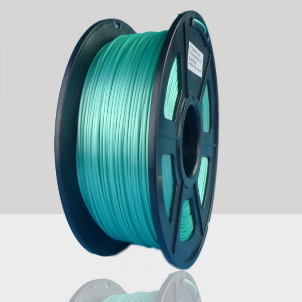 1.75mm Silk Like PLA Filament Green for 3D Printers, Rohs Compliance,1kg Spool, Dimensional Accuracy +/- 0.03 mm