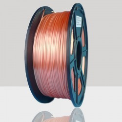 1.75mm Silk Like PLA Filament Orange for 3D Printers, Rohs Compliance,1kg Spool, Dimensional Accuracy +/- 0.03 mm