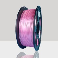 1.75mm Silk Like PLA Filament Pink for 3D Printers, Rohs Compliance,1kg Spool, Dimensional Accuracy +/- 0.03 mm