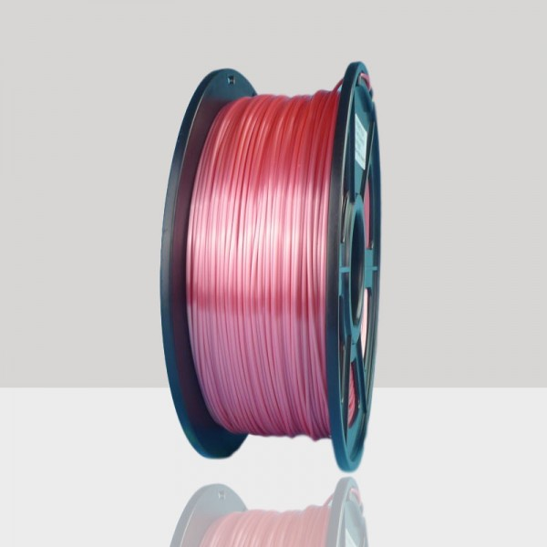 1.75mm Silk Like PLA Filament Red for 3D Printers, Rohs Compliance,1kg Spool, Dimensional Accuracy +/- 0.03 mm