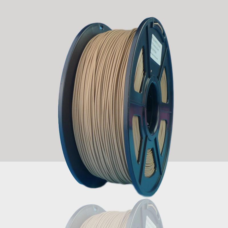 1.75mm Wood Filament Wood Fibers Similar PLA ABS Filament for 3D Printer