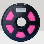 1.75mm PLA Filament Fluorescent Pink for 3D Printers, Rohs Compliance,1kg Spool, Dimensional Accuracy +/- 0.03 mm
